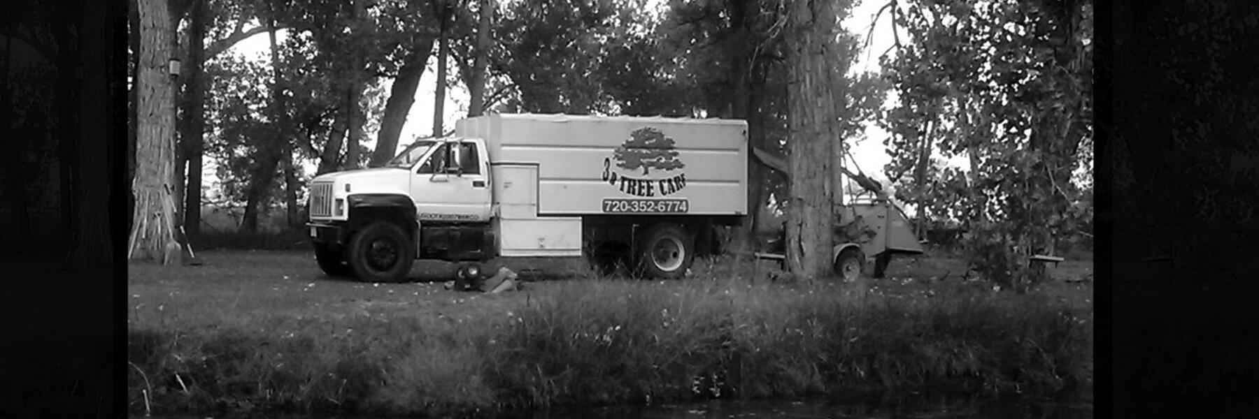 big-truck-bw